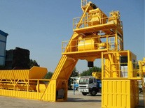 The features of the modular mobile mixing plant